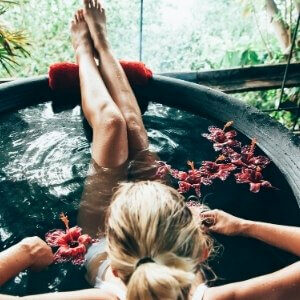 Salt baths for etheric wellbeing