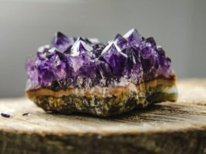 Amethyst for protection and safety