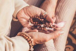 Morning spiritual routine
