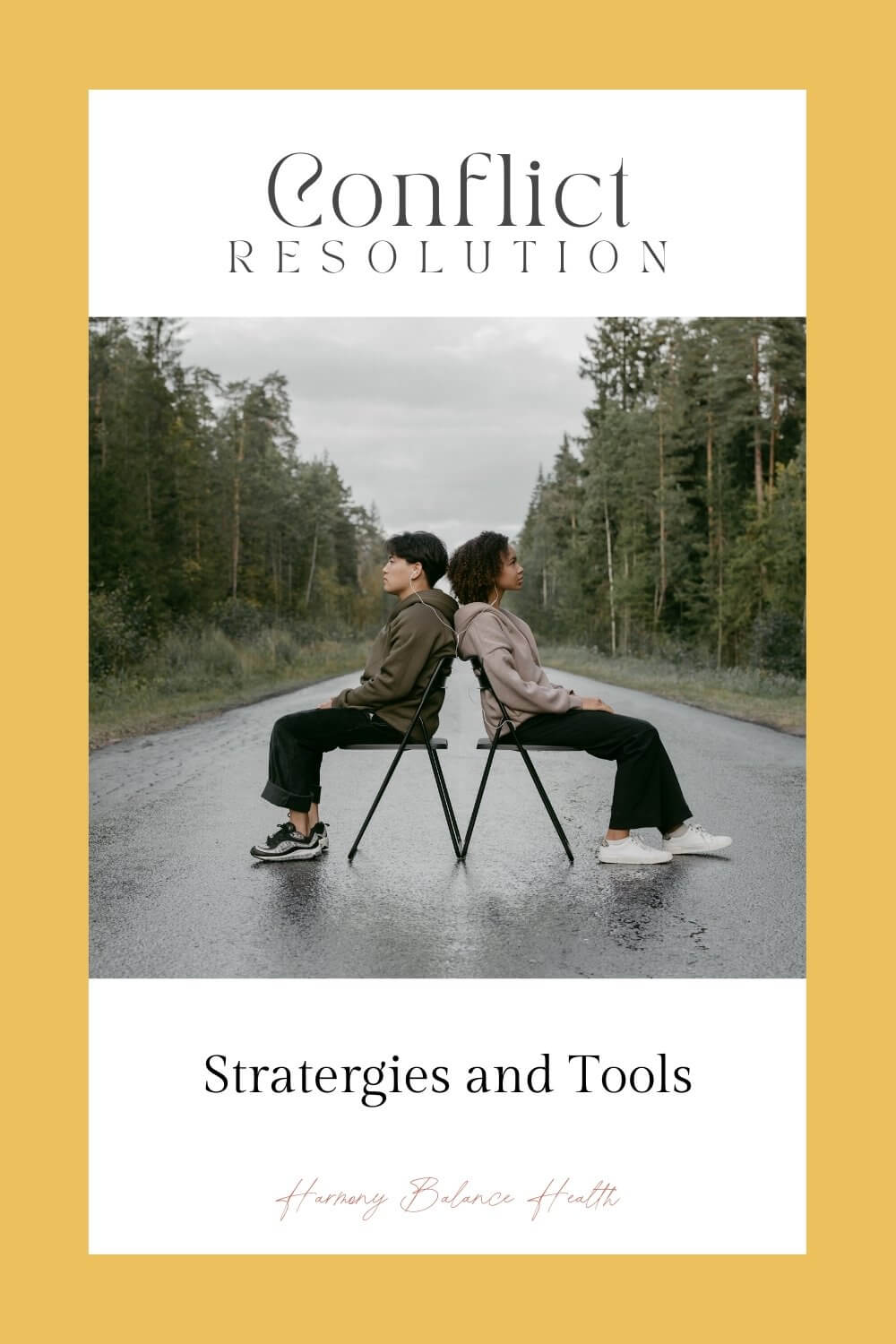 Conflict resolution strategies and tools